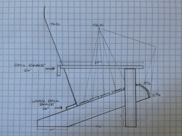 updated adirondack chair plan